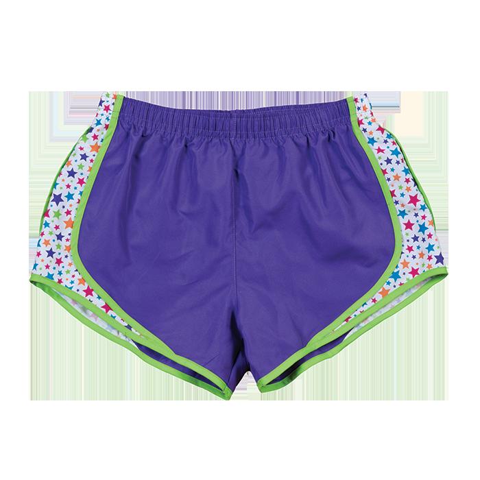 Swimsuit clipart purple shorts. Ladies velocity adult pro