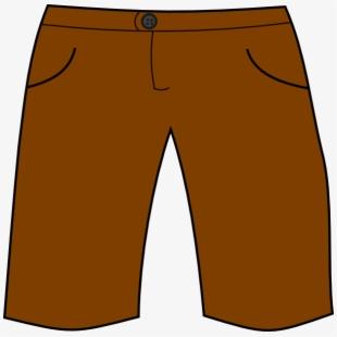 Short clipart brown shorts. Svg clip arts x