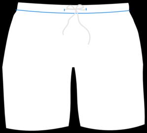 Swimsuit clipart swimming trunk. Boy shorts clip art