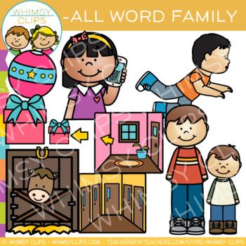 Vowel word clip art. Short clipart family member