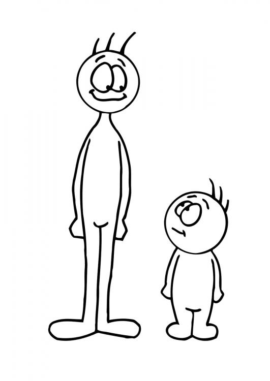 Free tall cliparts download. Short clipart short person