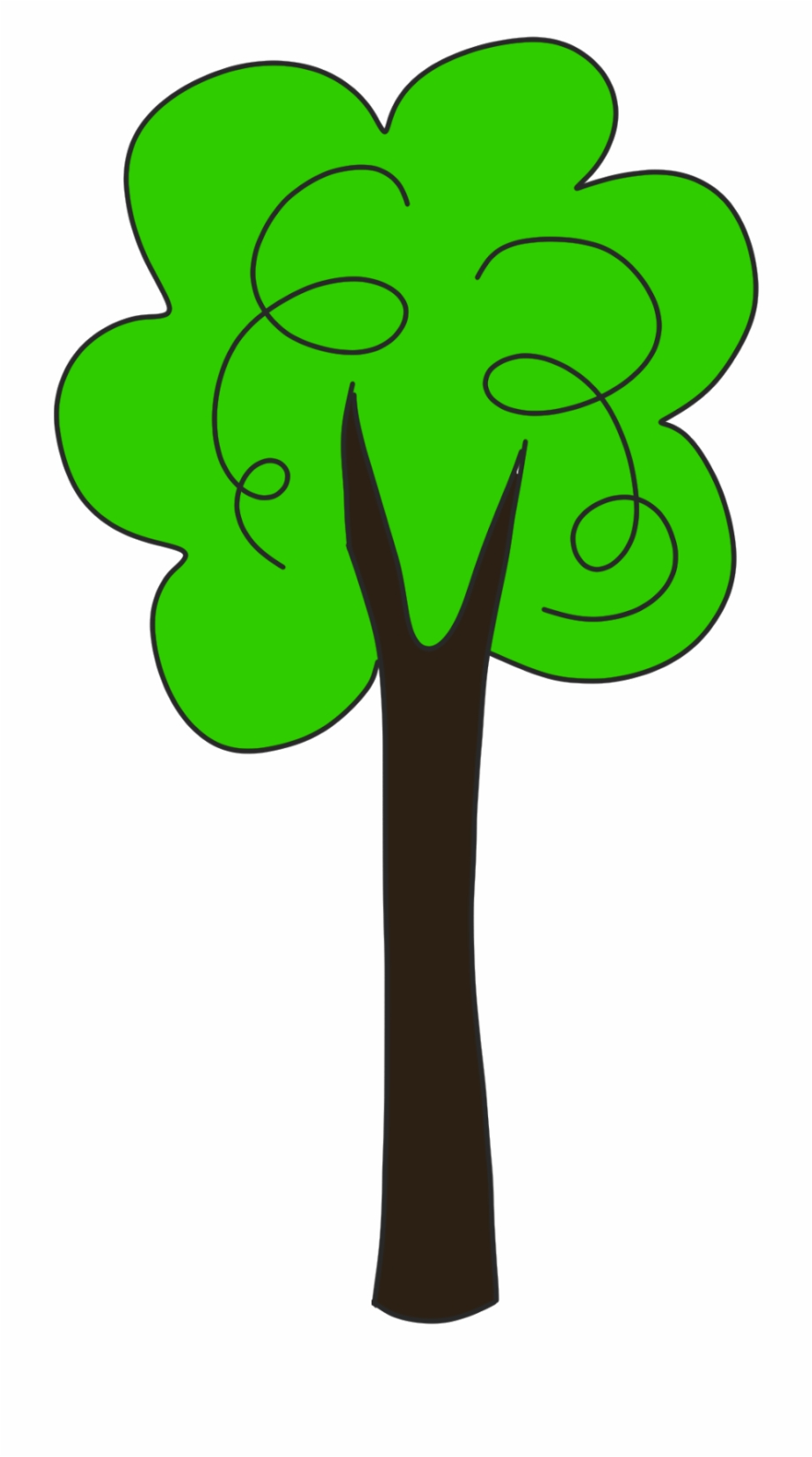 Tall clipart tall tall tall tree. Thin and thick clip