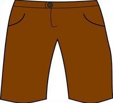 Short clipart. Free shorts