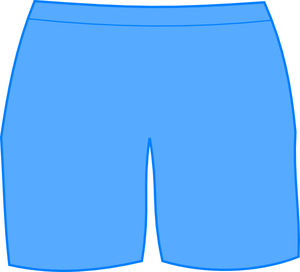 Clothing clipart shorts. Blue bathing clip art