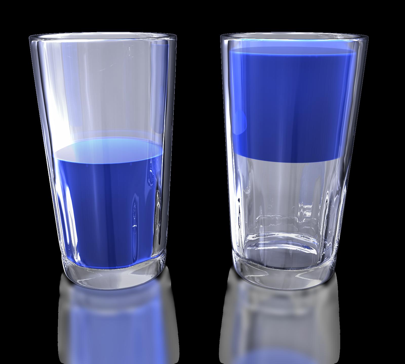 Shot clipart glass tumbler. Half full or empty