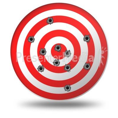 Gun shots signs and. Shot clipart shooting target