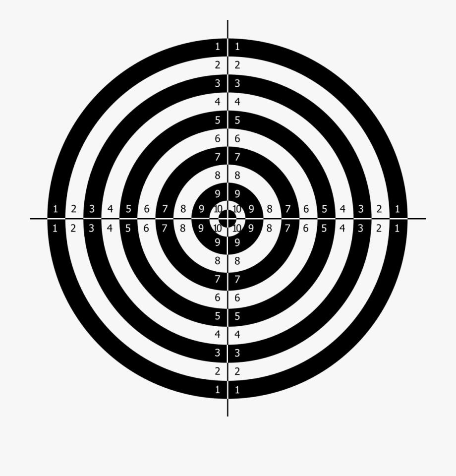 Png silueta de tiro. Shot clipart shooting target