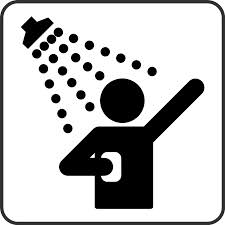 Clip art panda free. Shower clipart