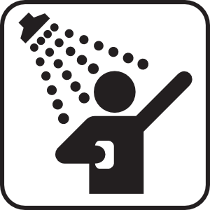Showering clipart. Shower free