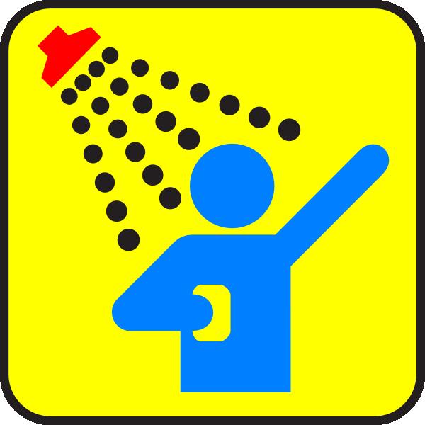 Hot shower clip art. Showering clipart