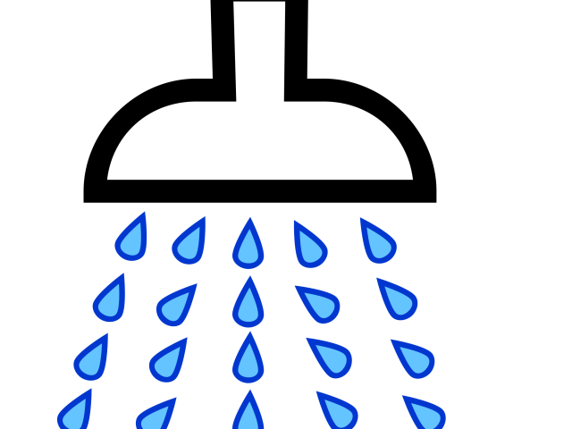 Clip art shower real. Showering clipart