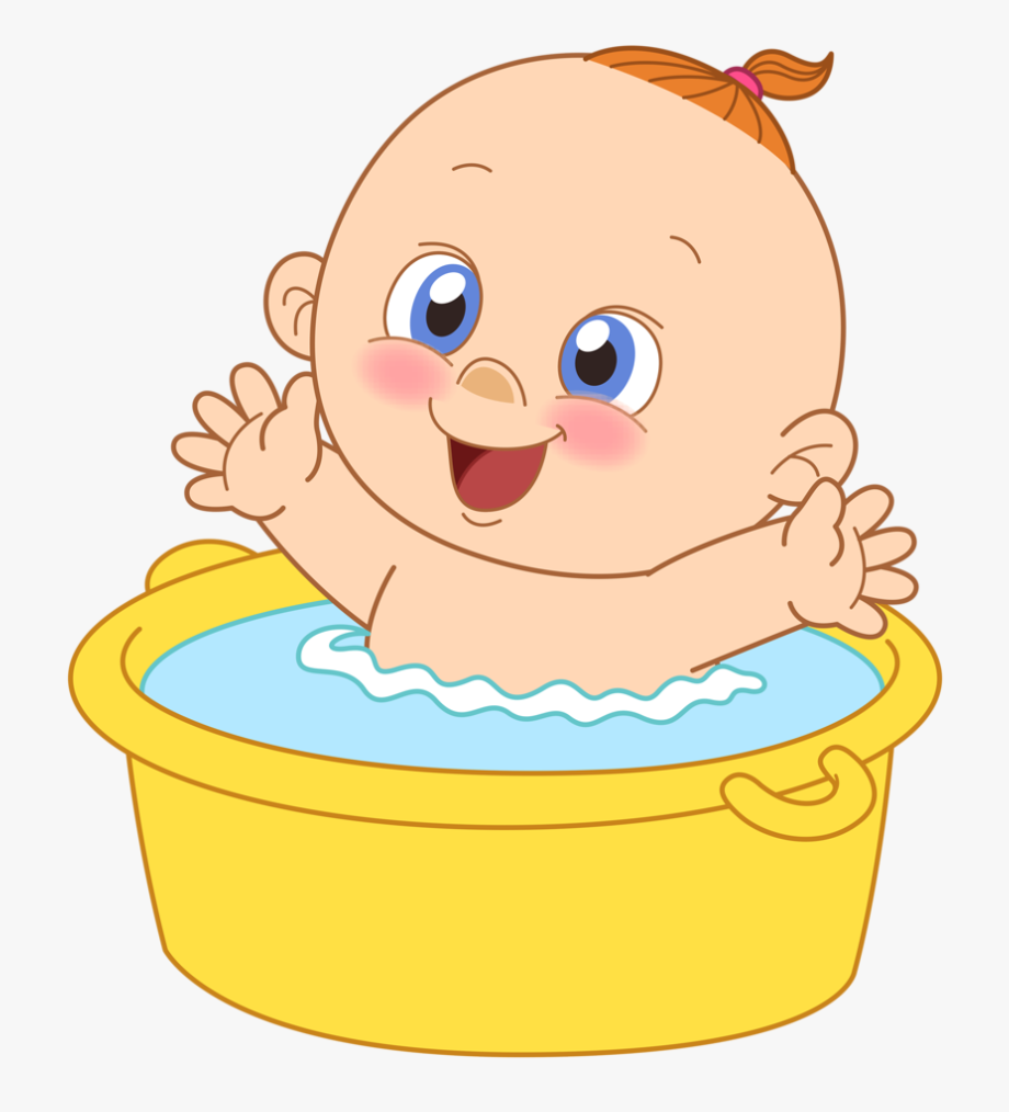 Baby bathing free cliparts. Showering clipart bathtub shower