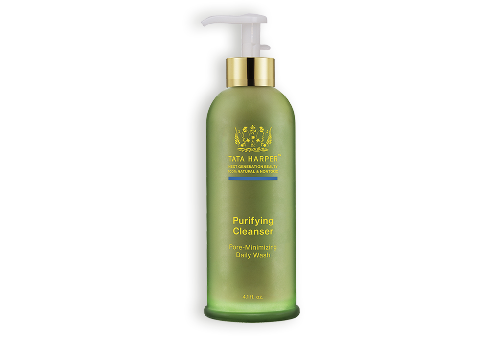 Purifying cleanser tata harper. Skin clipart cleansing