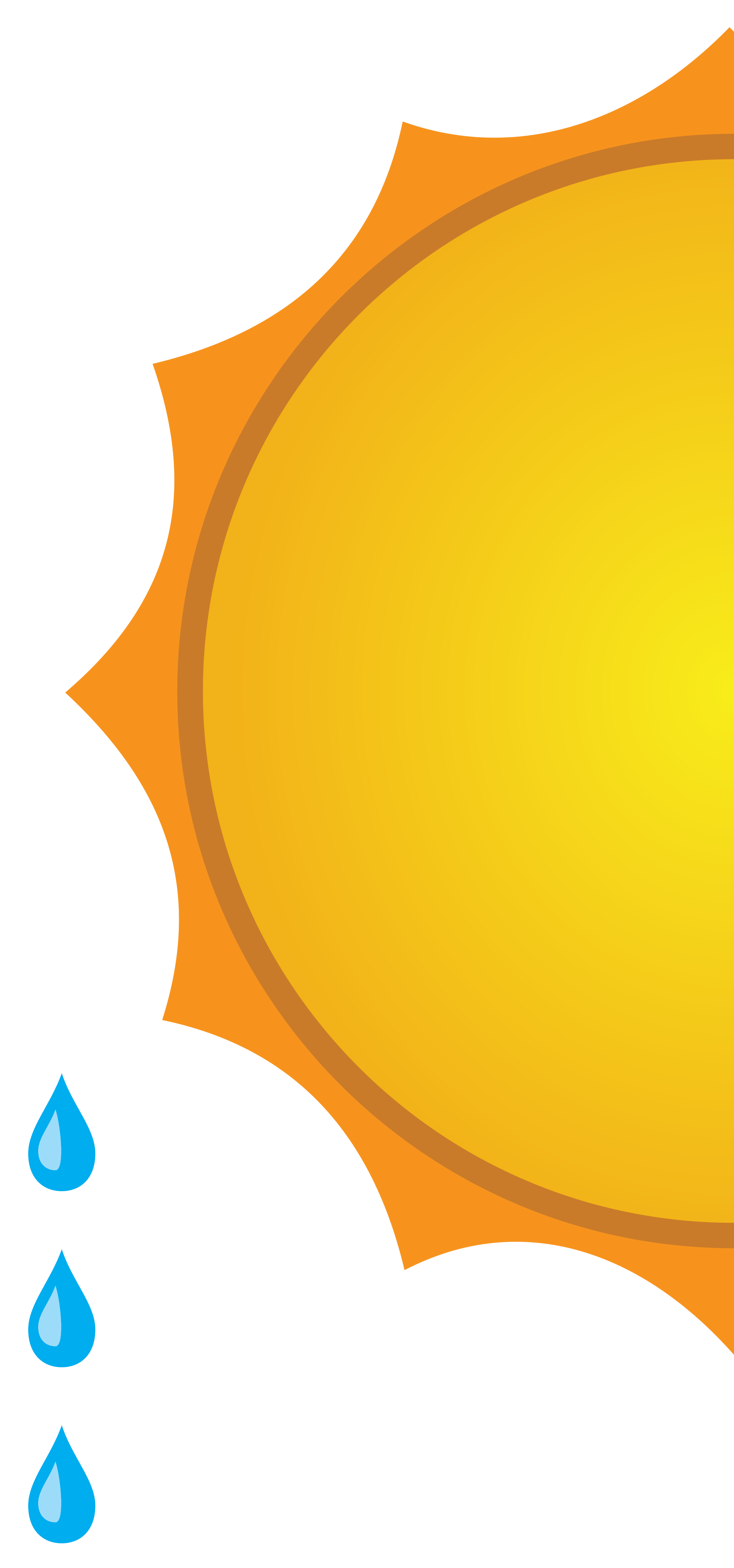 File weather forecast showers. Showering clipart sunny