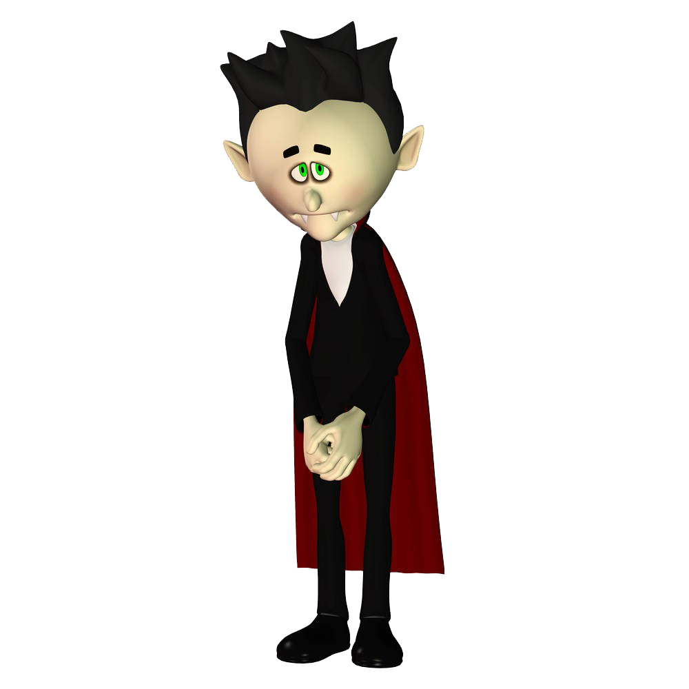 Shy clipart ashamed. Vampire royalty free photography