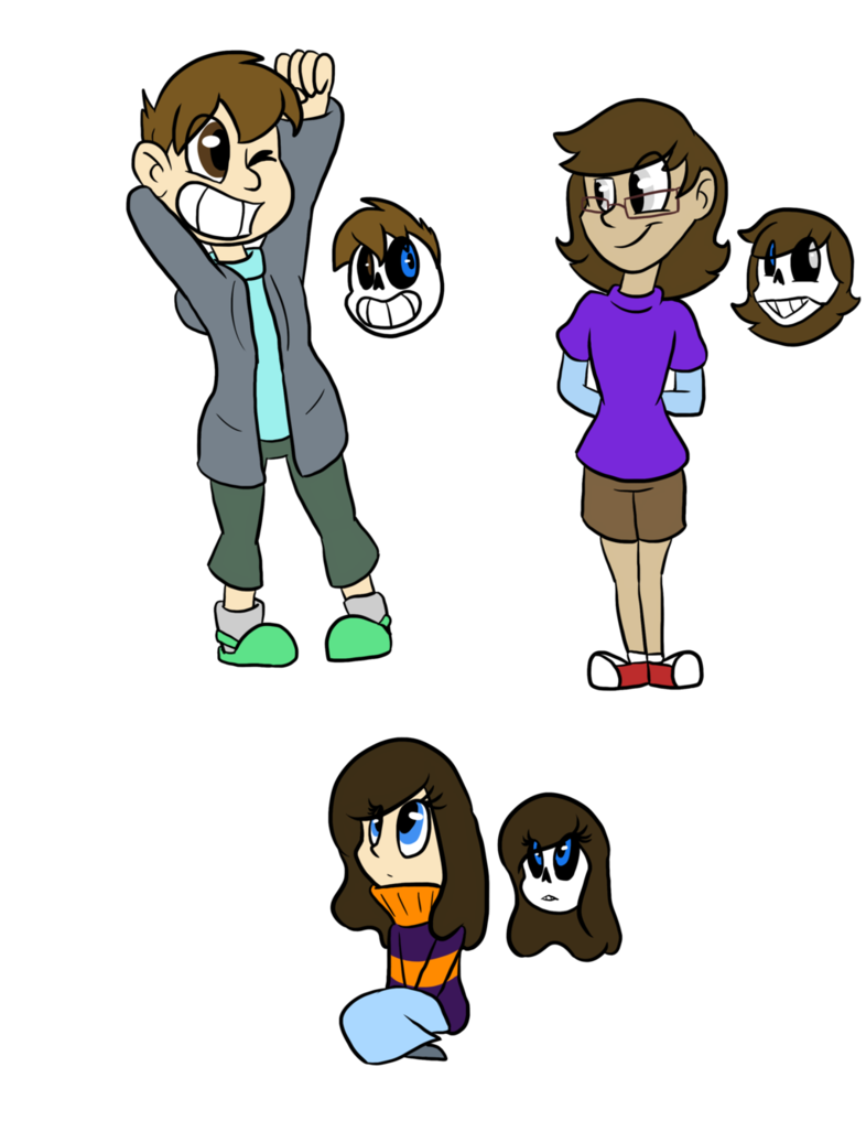 Shy clipart beautiful kid. Frisk and sans kids