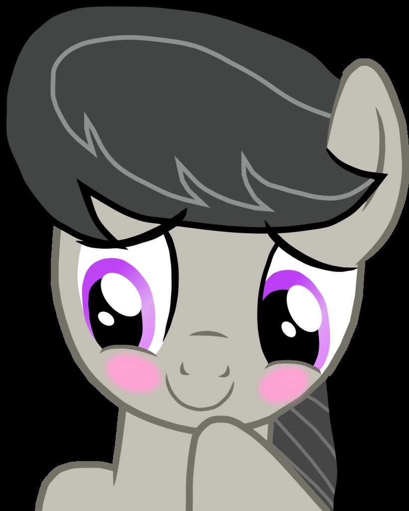 blushing cute octavia. Shy clipart blush