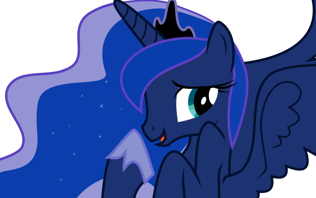 Luna by nero narmeril. Shy clipart embarrassed