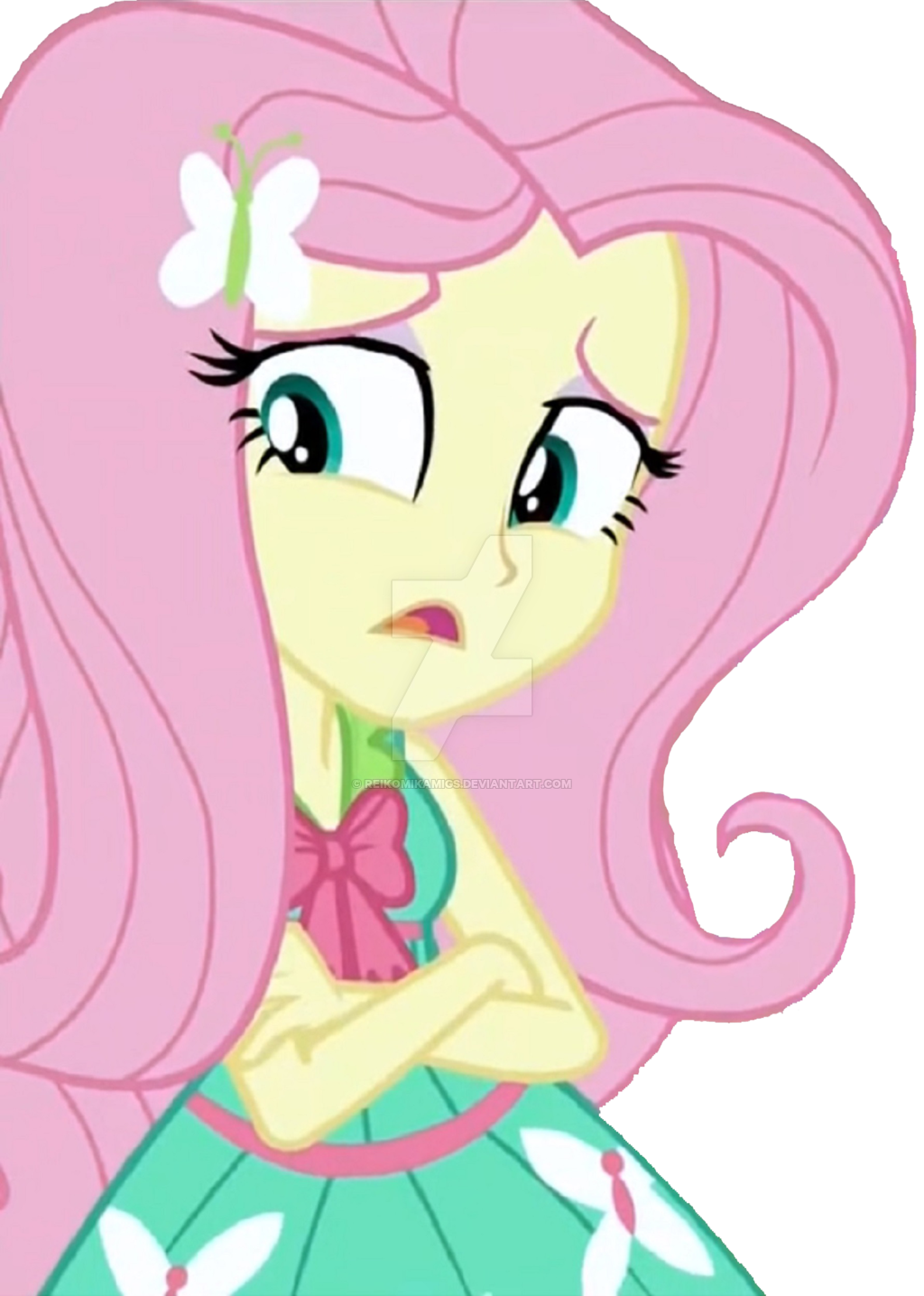 Shy clipart pink girl. Equestria fluttershy being by