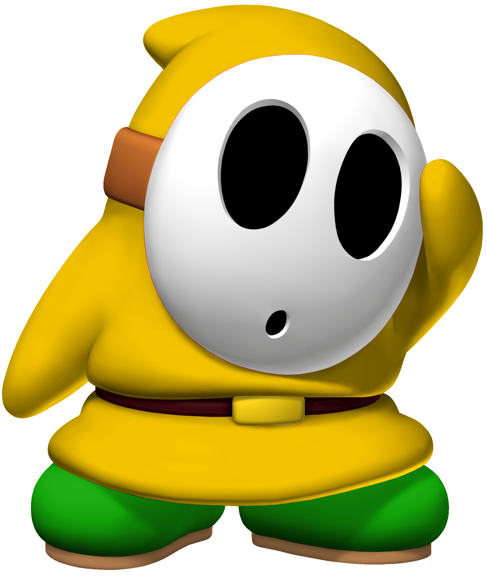 Shy clipart shy guy. Image acl mk yellow