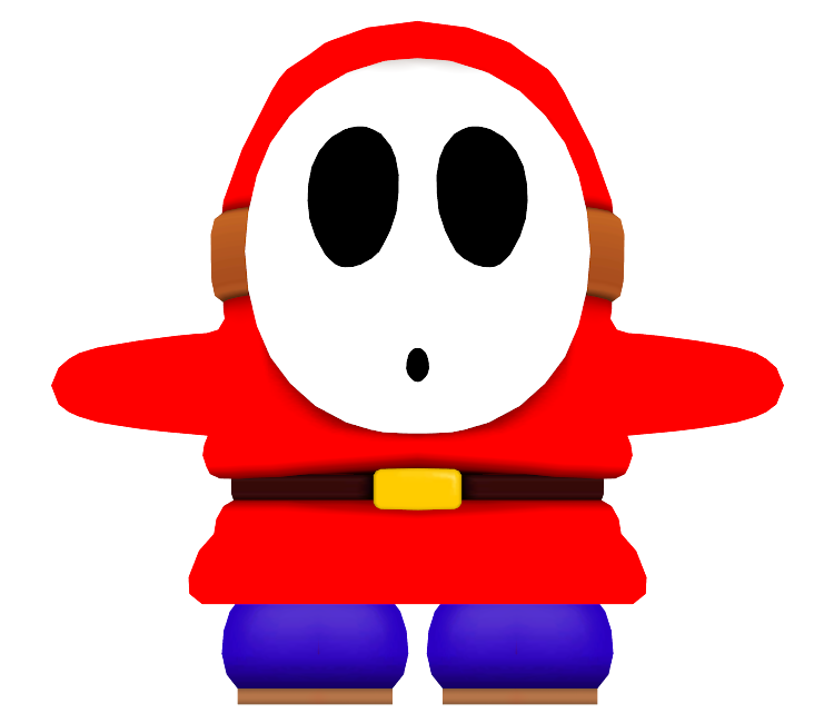 Wii mario party guy. Shy clipart shy smile