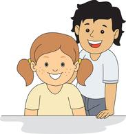 Free clip art pictures. Brothers clipart family