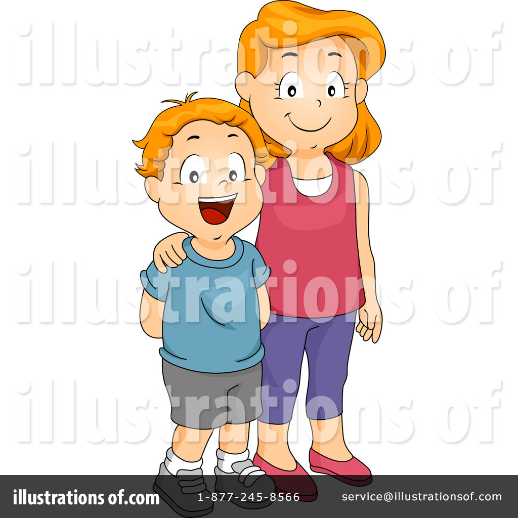 Siblings illustration by bnp. 1 clipart sister