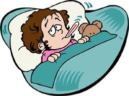 When your child is. Sick clipart childhood illness