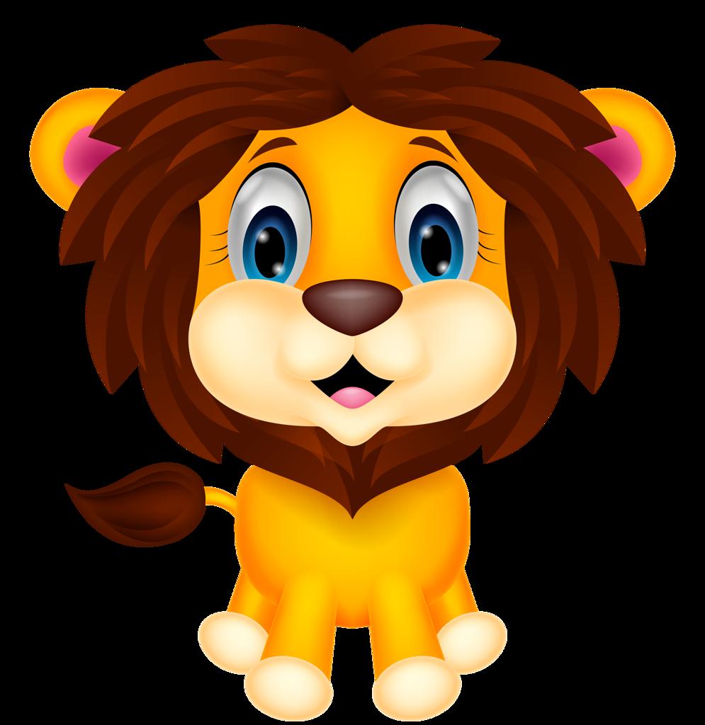 Cartoon faces group png. Sick clipart lion