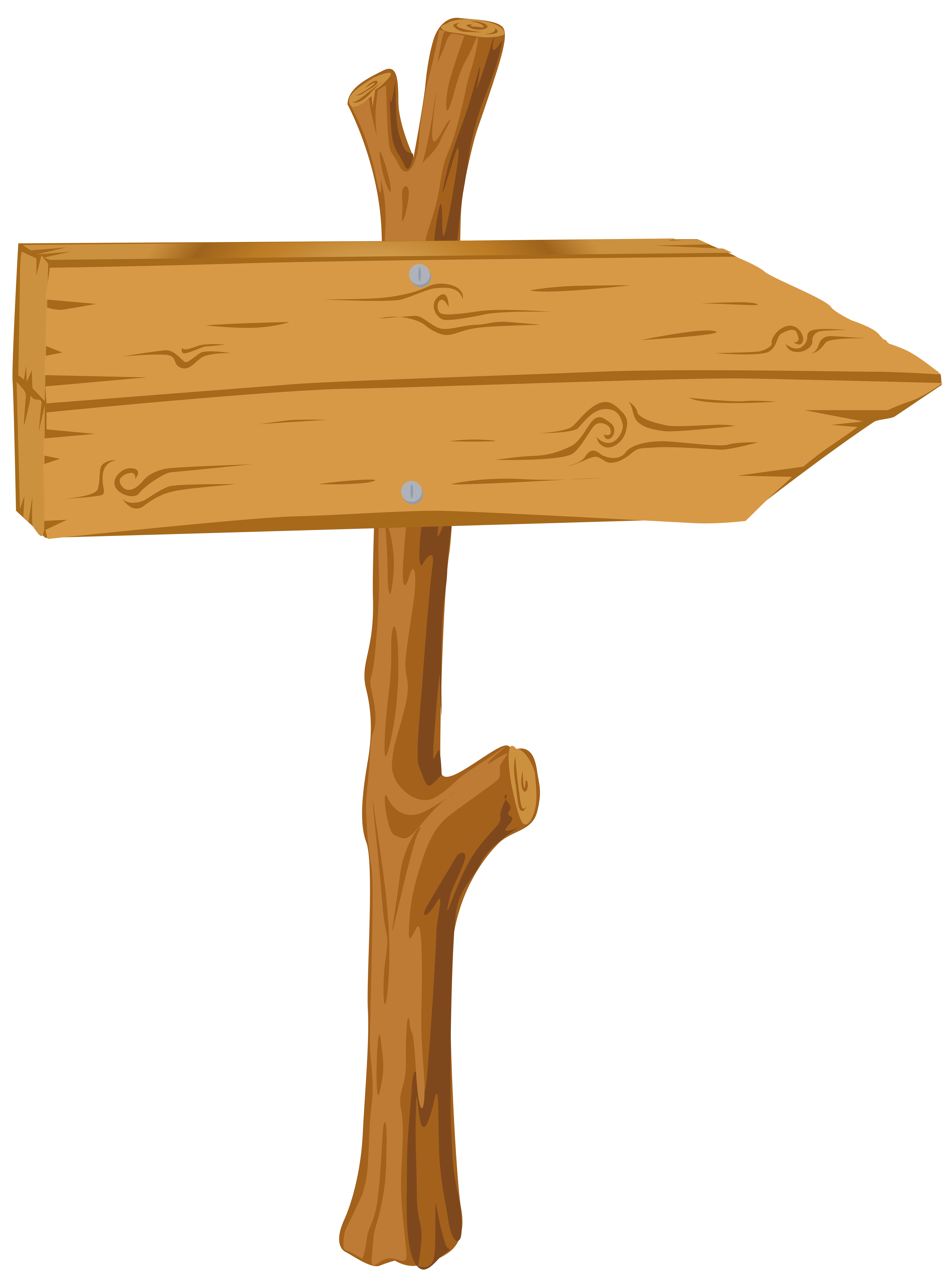 Wooden sign transparent png. Clipart arrow signboard