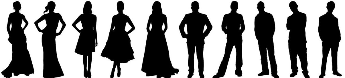 Free cliparts download clip. Silhouette clipart bridesmaid