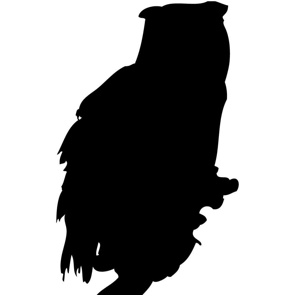 Silhouette clipart owl. Owls browse by shape