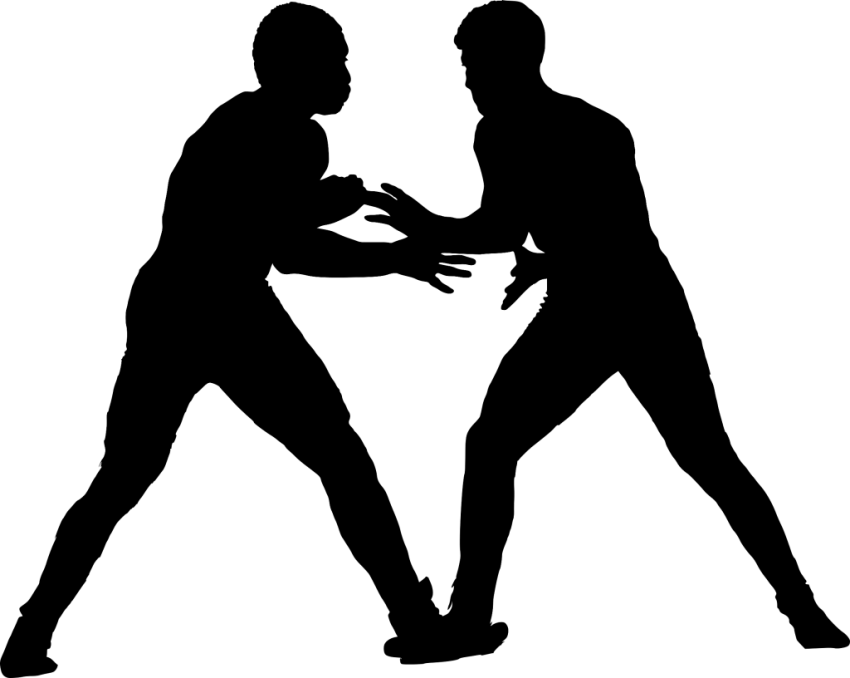 Sport wrestling png free. Wrestlers clipart silhouette