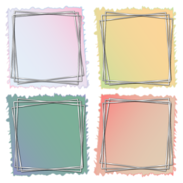 Vectors psd and clipart. Silver frame png