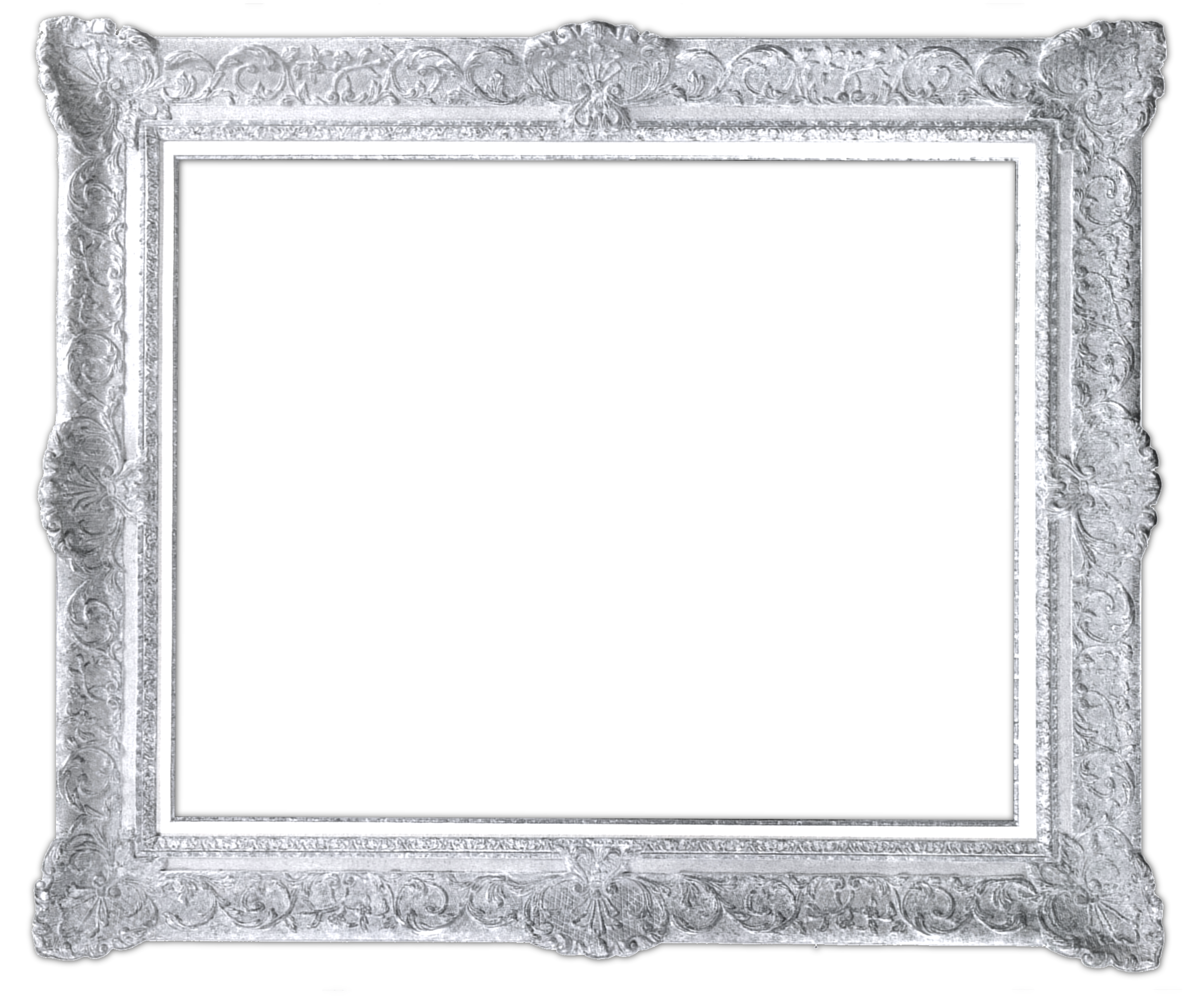 Winsome picture frames transparent. Silver frame png