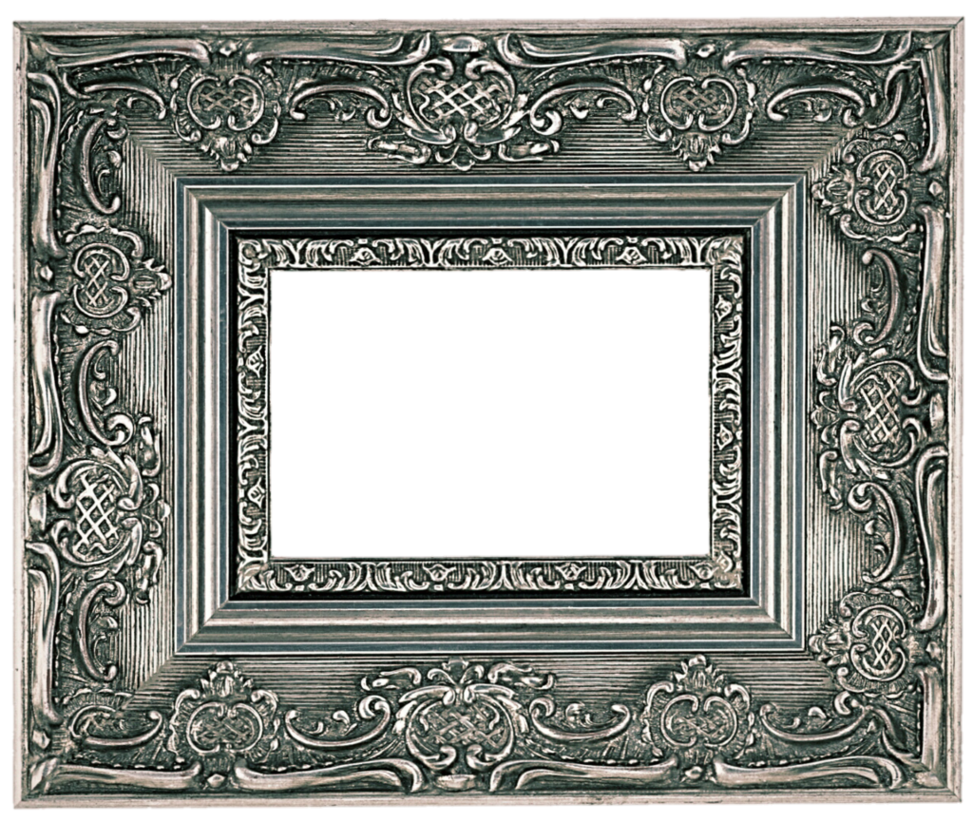 Silver picture frame png. Antique by jeanicebartzen on