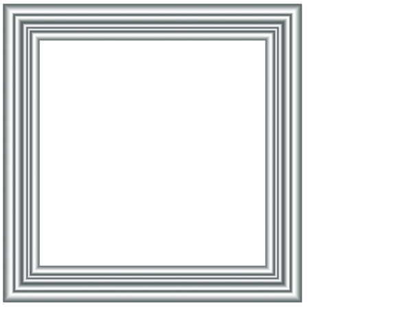 Silver picture frame png. By stuff hagrid on