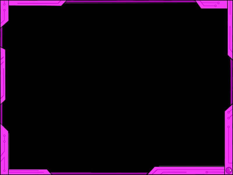 Simple border png. Futuristic design ver pink