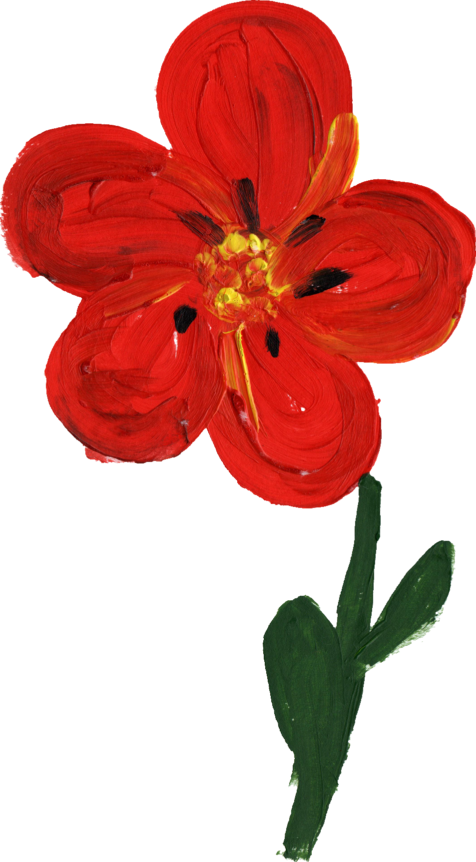 painted transparent onlygfx. Simple flower png