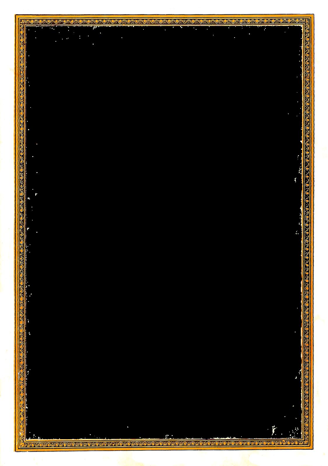 Simple vintage border png. Antique images decorative frame