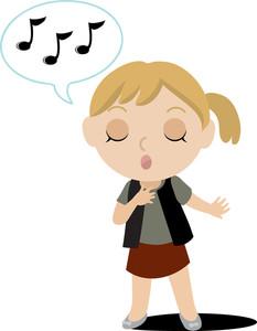 Panda free images singing. Singer clipart