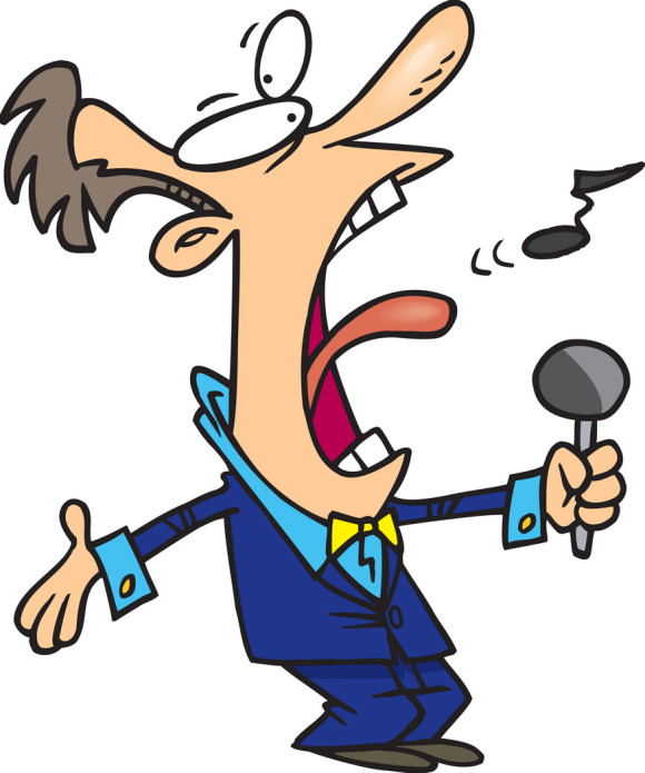 Musician clipart bad singer. Free cliparts download clip