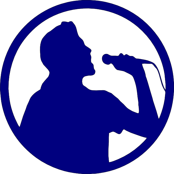 Singer clipart. Karaoke clip art at