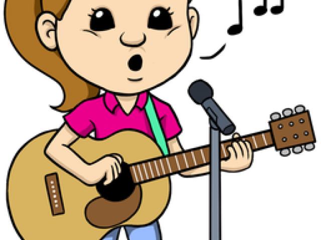 musician children s. Singer clipart acapella
