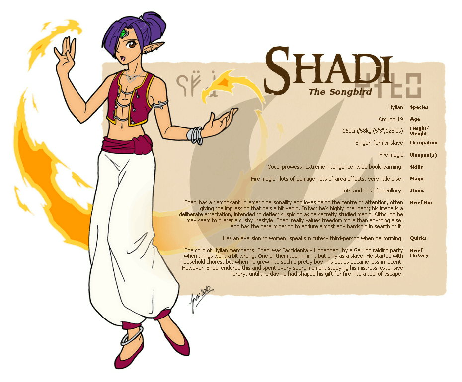 Character guide shadi by. Slavery clipart deliberate