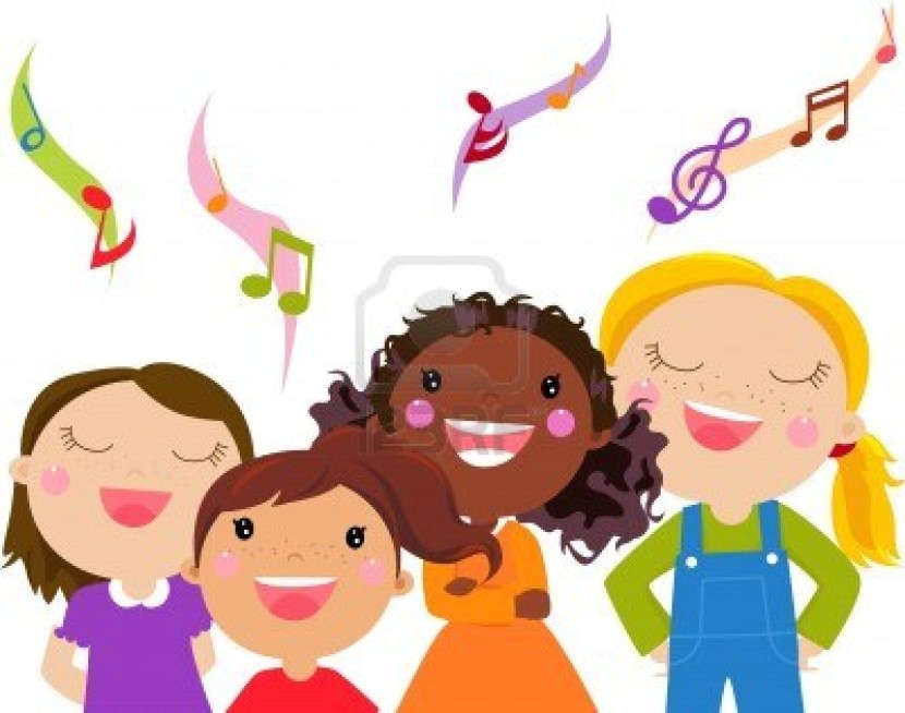 Children singing clipartion com. Singer clipart toddler