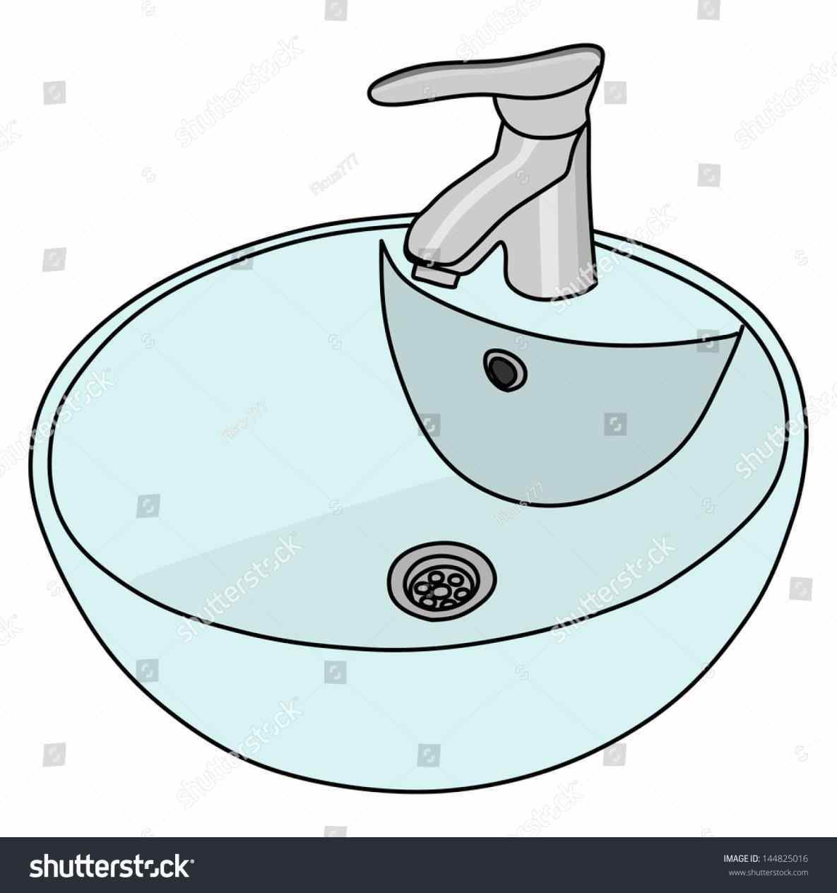 Marvelous clean bathroom minhodate. Sink clipart
