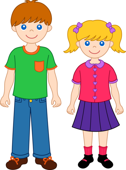 brothers clipart cartoon