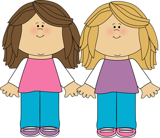 sisters. 2 clipart sibling