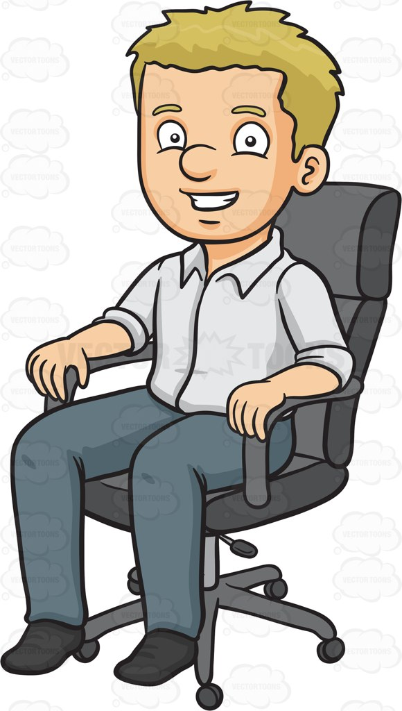 Sit clipart.  collection of person